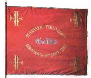 Fahne des Männerturnvereins Gut Heil